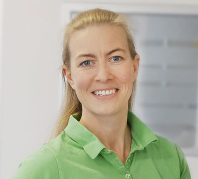 Claudia Glatz - Mitarbeiterin des Augenzentrum Mayer